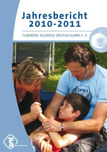 Jahresbericht 2010-2011 - Tuberöse Sklerose Deutschland eV