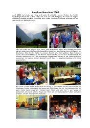13. Jungfrau Marathon - bei der TSG Grünstadt