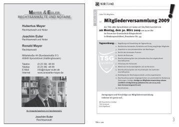 TSGinfo1-09 Teil1(Dateigröße: 1.12 MB) - TSG 1881 Sprockhövel eV