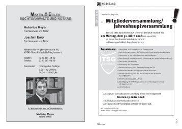 TSGinfo1-08 Teil1(Dateigröße: 1.48 MB) - TSG 1881 Sprockhövel eV