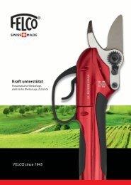 FELCO since 1945 Kraft unterstützt