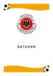 S A T Z U N G - TSG Pfeddersheim Fußball eV