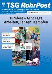 Juli/Aug. 2013 - TSG Rohrbach