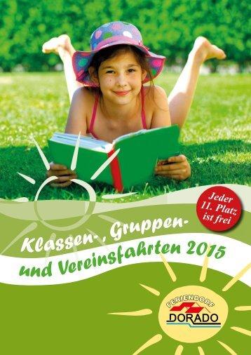 Feriendorf Dorado Katalog & Preise 2015