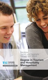 Download brochure - TSI-Turismo Sant Ignasi