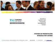 Diapositiva 1 - TSI-Turismo Sant Ignasi - Universitat Ramon Llull