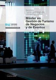 Máster en Gestión de Turismo de Negocios y de Eventos