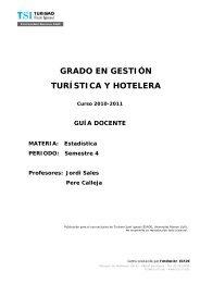 Grau en Turisme_ECO_TSI - TSI-Turismo Sant Ignasi - Universitat ...