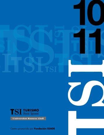 Centro promovido por Fundación ESADE - TSI-Turismo Sant Ignasi ...