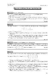 Classe de TSI2 - Exercices de mathématiques