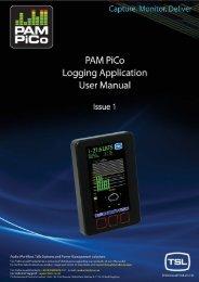 PAM PiCo Logging User Manual v1.pdf - TSL