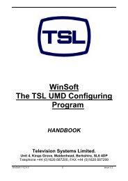 Sony - TSL