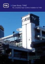 Case Study: TVNZ - TSL