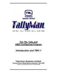 Introduction and TMC-1 - TSL