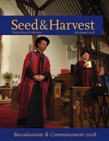 July-Aug 2008.pdf - Trinity School for Ministry