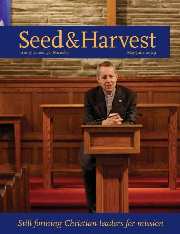May-June 2009.pdf - Trinity School for Ministry