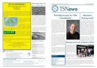 KIT CLUB NEWS ! - Teacher Scientist Network