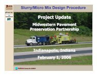 Moulthrop Slurry Micro Mix Design - TSP2