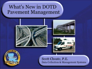 1. Method of Collecting Pavement Data - TSP2