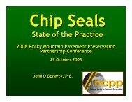 RMPPP Chip Seals - TSP2