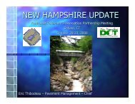 NEW HAMPSHIRE UPDATE - TSP2