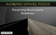 Preserving Municipality Roadways - TSP2