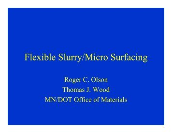 Olson-Wood Microsurfacing - TSP2
