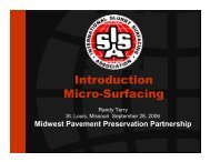 Introduction Micro-Surfacing - TSP2