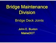 Bridge Maintenance Division