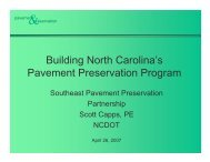 Why Pavement Preservation? - TSP2