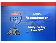 I-235 Reconstruction I-235 Reconstruction - TSP2