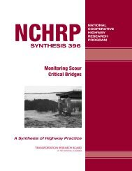 NCHRP Synthesis 396 – Monitoring Scour Critical Bridges - TSP2