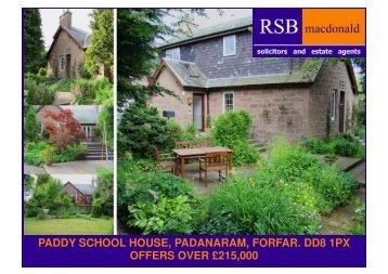 PADDY SCHOOLHOUSE, PADANARAM - TSPC