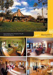 Easter Bendochy House, Blairgowrie PH13 9HU OFFERS ... - TSPC