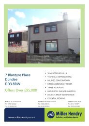 7 Blantyre Place Dundee DD3 8RW Offers Over £95,000 - TSPC