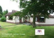 14 Waulkmill, Letham Grange - TSPC