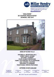 """""""ingleside"""" 36 coupar angus road dundee, dd2 3hy offers ... - TSPC"""