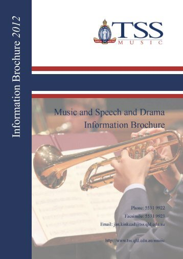 Information Brochure 2012 - The Southport School