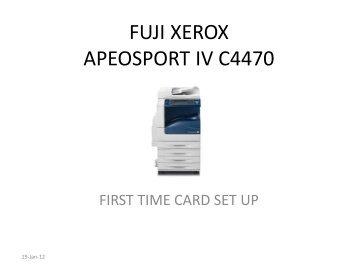 Fuji xerox apeosport-iv c3375