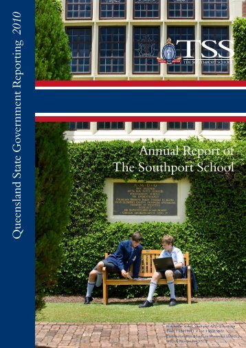 Annual Report of The Southport School