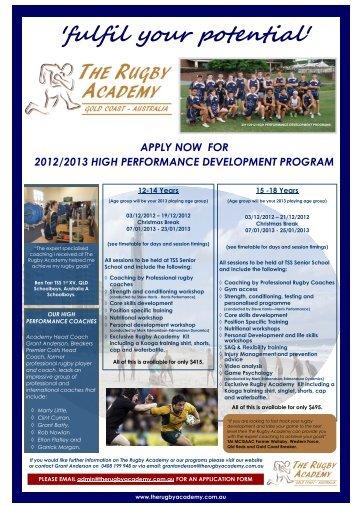 Download Development Program Flyer