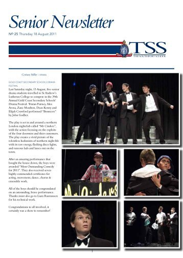 Senior Newsletter - The Southport School