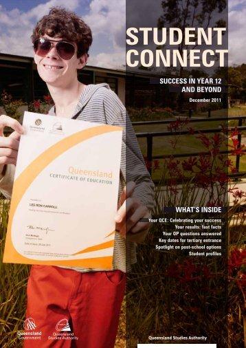 Student Connect magazine - December 2011