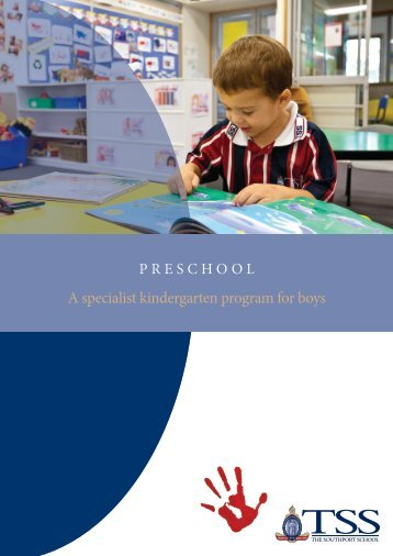 TSS Preschool Parent Handbook 2013 1 - The Southport School