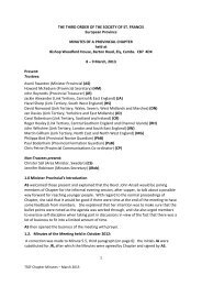 2013 DRAFT Chapter Minutes 1 - the TSSF European Province ...