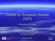 Centre for European Studies (CES) - Tbilisi State University