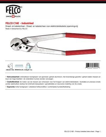 FELCO C16E - Industrieel