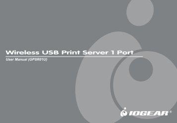Wireless USB Print Server 1 Port