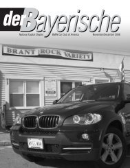 National Capital Chapter BMW Car Club of America November ...
