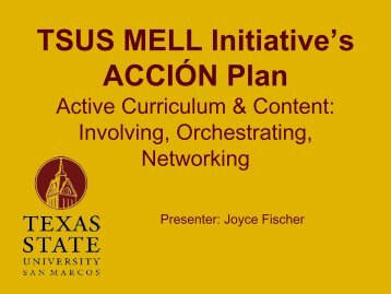 MELL Accion Model - Mathematics for English Language Learners ...